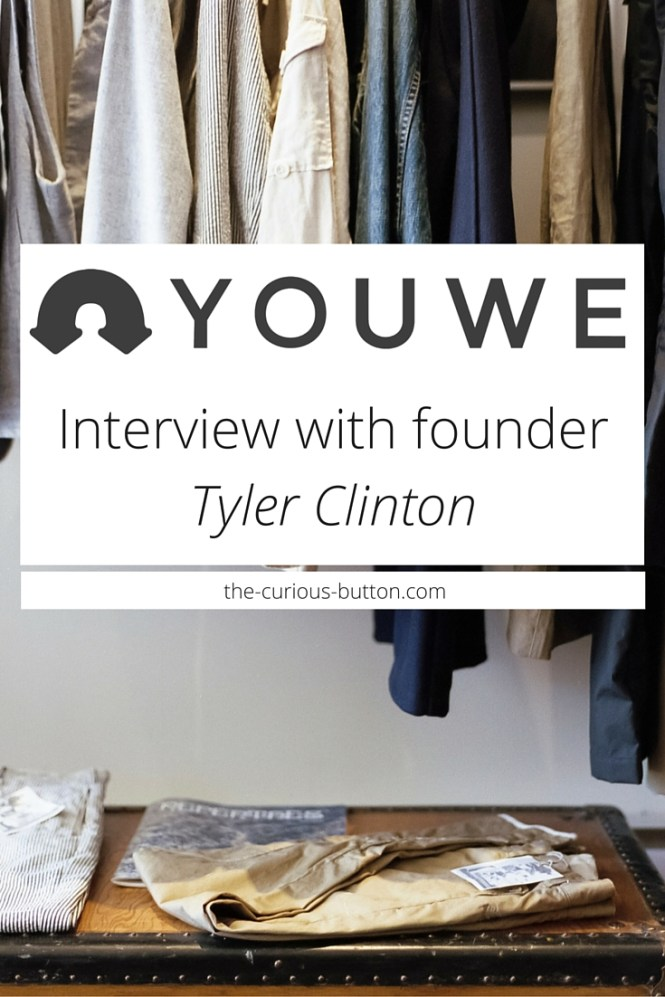 YOUWE: Interview with Founder Tyler Clinton