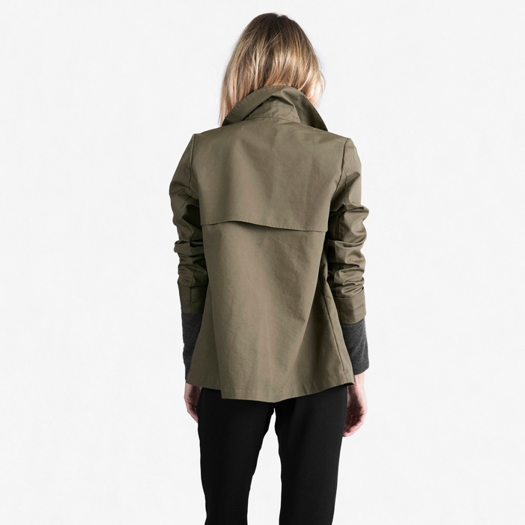 2016 Fall Basics [Ethical Edit]   The Curious Button, an ethically conscious life + style blog   Everlane Swing Trench