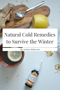 Natural Cold Remedies to Survive the Winter | The Curious Button