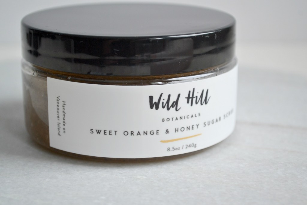 Wild Hill Botanicals - Nourishing Your Skin With Nature | The Curious Button | Sweet Orange and Honey Sugar Scrub