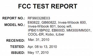 Kobo, Cool-ER to release Wifi equipped e-reader! e-Reading Hardware
