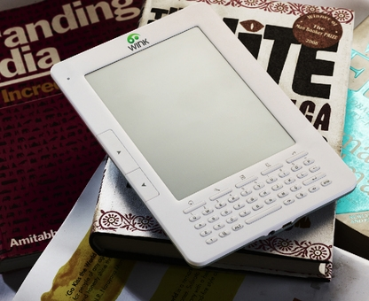 Wink e-reader launched in India e-Reading Hardware