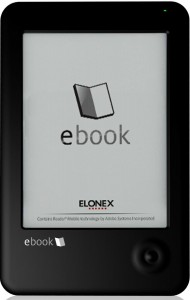 Elonex 621EB, 631EB e-readers - Wifi, E-ink e-Reading Hardware