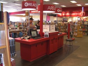 Borders FAIL - Area-e launched this week eBookstore