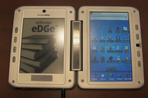 First official photos of the Pocket Edge e-Reading Hardware