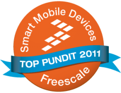 Freescale just named me as a Smart Mobile Device Pundit blog maintenance