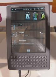 Binatone Readme Mobile e-reader shipping soon e-Reading Hardware