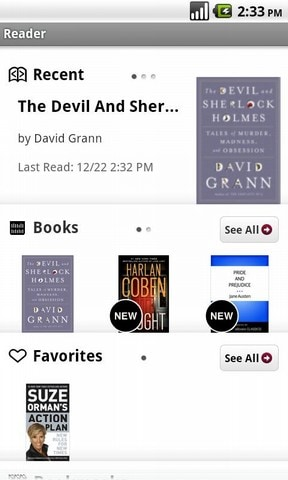 Sony Reader Android app now Available e-Reading Software