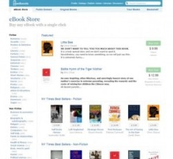 Feedbook Store now sells ebooks from Harper Collins, Simon & Schuster & Penguin eBookstore