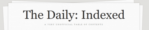 How to read The Daily (if you don't have an iPad) Editorials