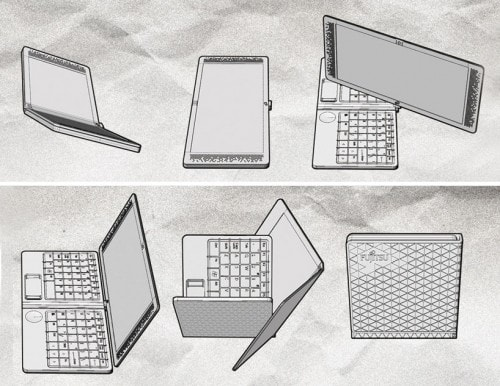 Flexbook - Because Folding Your Laptop in Half is Passe e-Reading Hardware