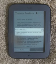 B&N shipped me a non-functioning Nook Touch! e-Reading Hardware