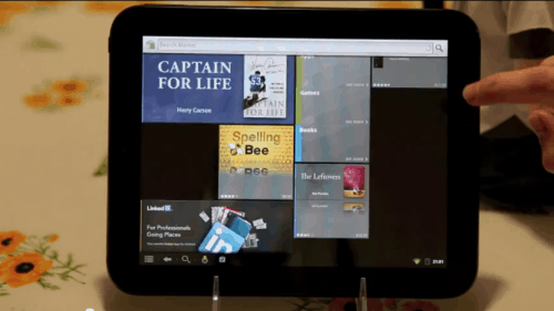 HP TouchPad now has Android with Wifi, Android Market, and more (video) e-Reading Hardware