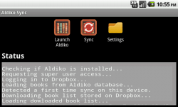 New App lets you sync Aldiko content across multiple Android Tablets e-Reading Software