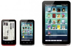 Sharp toEnd Production of the Galapagos E-readers e-Reading Hardware