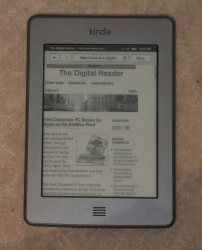 Kindle Touch Now Shipping to UK, Germany, France Amazon e-Reading Hardware