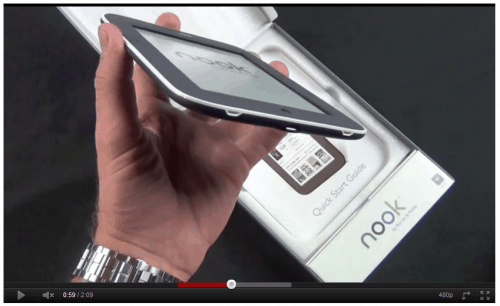 First Look at the Limited Edition Nook Cream e-Reading Hardware