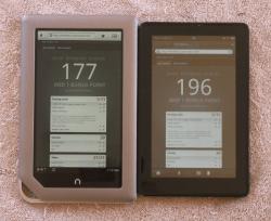 Nook Tablet, Kindle Fire Have Poor HTML5 Support Web Browser