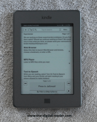 Kindle Touch Gets World's Simplest JailBreak (And It Runs HTML5) e-Reading Hardware