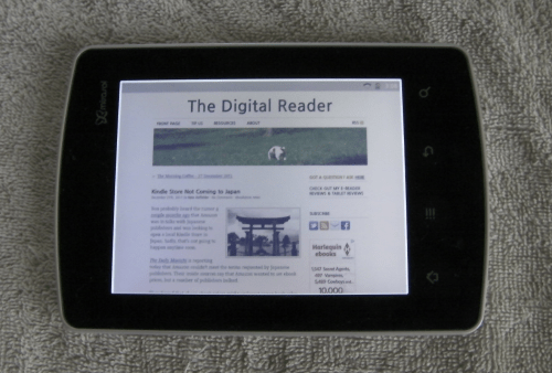 Getting Started With a Kyobo Mirasol eReader e-Reading Hardware Tips and Tricks