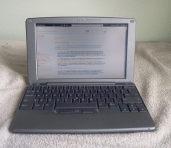Blast From the Past: Palm Foleo Blast from the Past e-Reading Hardware
