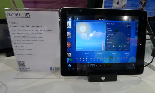 """Skytex to Launch 7"""" Argos, 9.7"""" Protos Android Tablets This Spring Conferences & Trade shows e-Reading Hardware"""