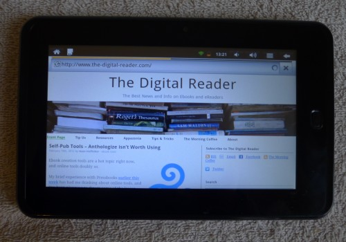 Review: $99 IdolPad Android Tablet Reviews