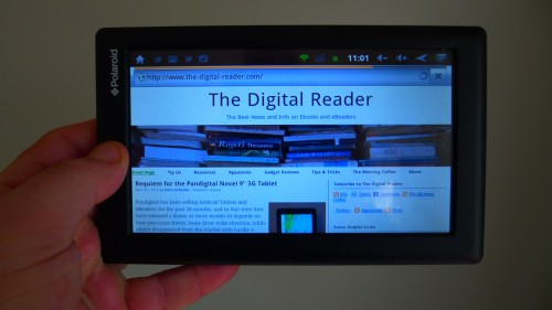 Polaroid's New Android 4.0 ICS Tablet is Now in Stores (And in my Hands) Reviews