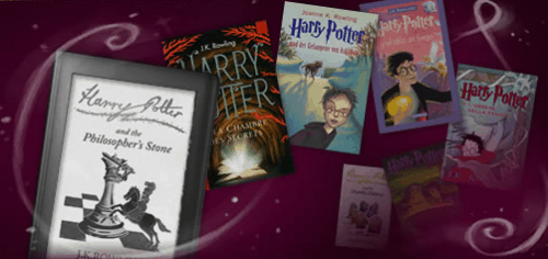 Break Out the EU Flag - Harry Potter eBooks Now Available in French, Italian, German and Spanish eBookstore