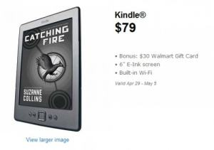 Kindle 4 On Sale at Walmart (Comes with $30 Gift Card) Uncategorized