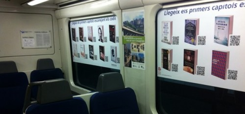 """Spanish Railway Launches """"Library Train"""" Digital Library"""