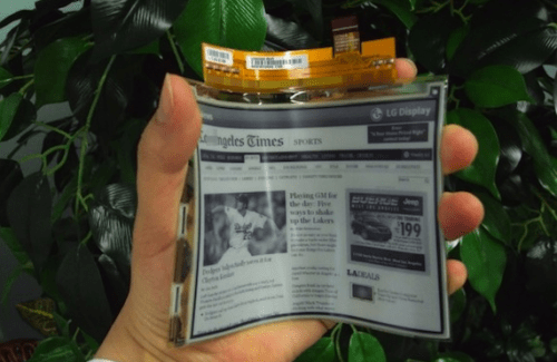 Updated: Onyx's Flexible Screen eReaders Delayed e-Reading Hardware
