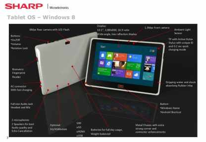 """Sharp Shows Off a 10"""" Educational Tablet e-Reading Hardware"""