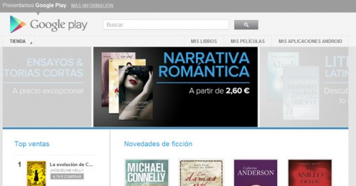 Google eBookstore Now Live in Spain eBookstore Google Books