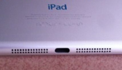 Is This the Backside of the iPad Mini? Rumors
