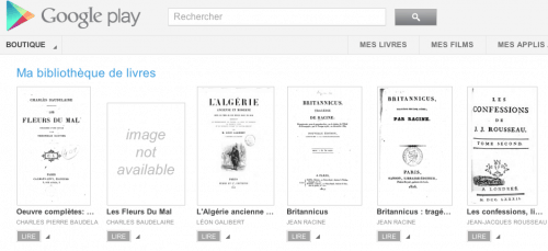 Google eBookstore Now Live in France eBookstore