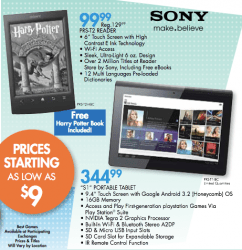 Sony Reader PRS-T2 to go on Sale in September for $99 e-Reading Hardware