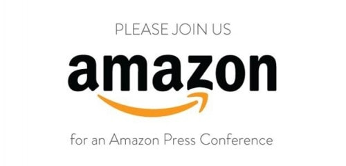 Amazon to Hold a Press Conference on 6 September Conferences & Trade shows