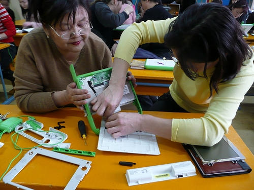 OLPC Now Shipping Update Kits for XO Laptops e-Reading Hardware Education