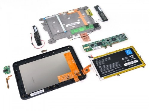 "Inside the 7"" Kindle Fire HD e-Reading Hardware"