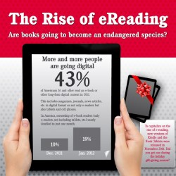 The Rise of eReading (Infographic) Infographic
