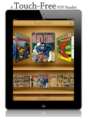 Magic Reader Adds Motion Tracking to Your Reading Fun e-Reading Software