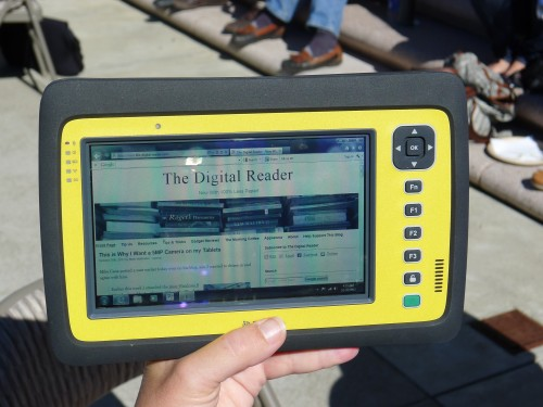 Trimble Releases New Rugged Tablet with Pixel Qi Screen Uncategorized