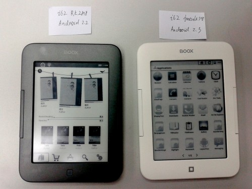 Android Now Running on the Onyx Boox i62 eReader e-Reading Hardware