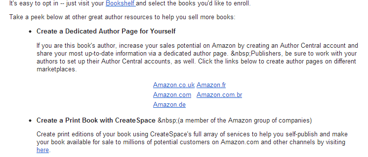 Emails from Amazon Hint at Imminent Launch of Brazilian Kindle Store