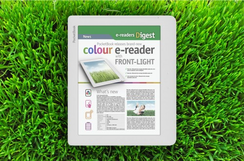 "Pocketbook to Make 8"" Color E-ink eReader with Frontlit Screen e-Reading Hardware"