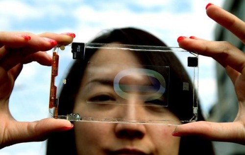 When it Comes to Smartphones, Transparent Could be the New Black e-Reading Hardware