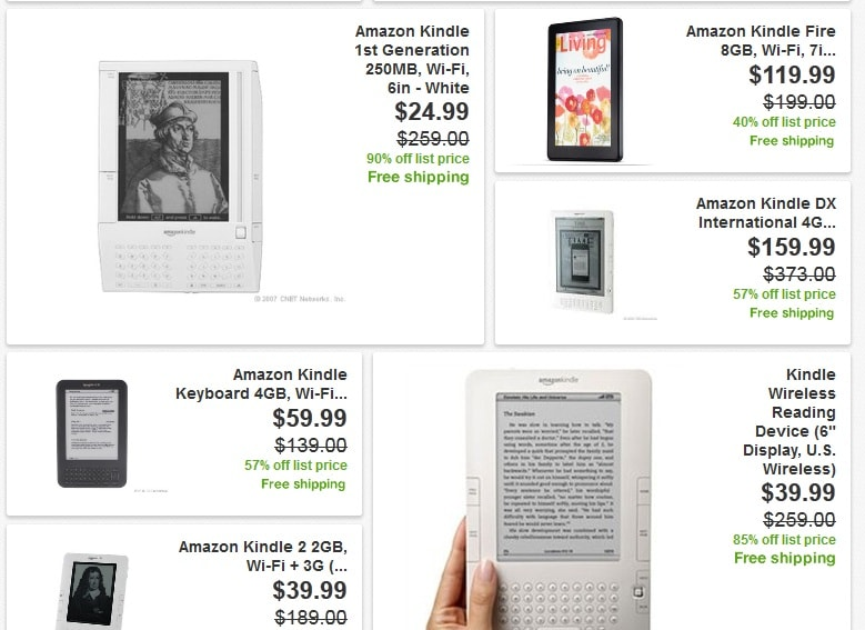 Amazon is Clearing Out the Warehouse - All Kindle Models on