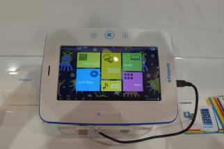 Hands On With Polaroid's New Kids Tablet (and All Their Other Tablets) Conferences & Trade shows e-Reading Hardware