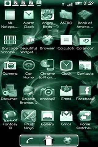 ADW Launcher Replaces the Kindle Fire HD Home Screen e-Reading Software Fire